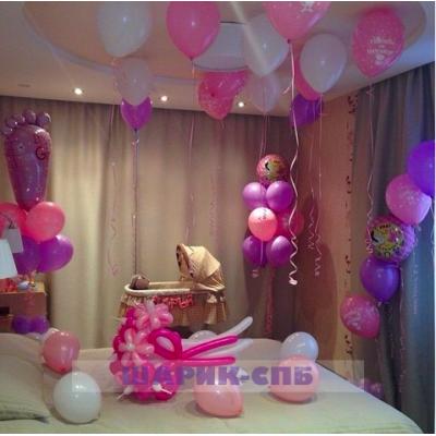Как украсить комнату для беременных 5